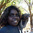 File snake hunting buddy -  Djukbinj National Park - east of Kakadu National Park : Kakadukid