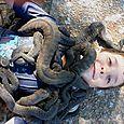 File snake glory - Djukbinj National Park - east of Kakadu National Park : Kakadukid