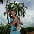 Making friends with a python - outside Kakadu National Park : Kakadukid