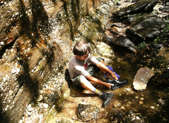 Cooling off at Nourlangie - Kakadu National Park : Kakadukid