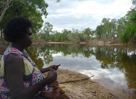 Fishing with friends at 009 -  Kakadu National Park : Kakadukid