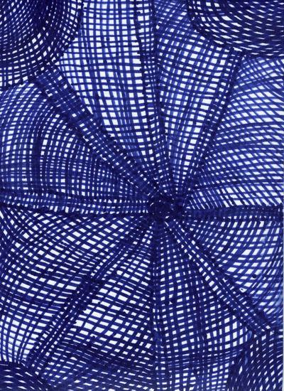 Blue Linework