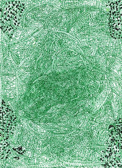 Green Line Art