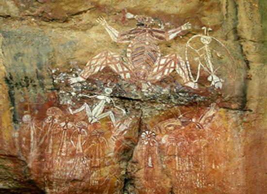 Namarrgon at Anbangbang Gallery - Nourlangie